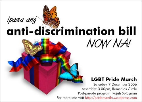 The status of lesbian gay bisexual and transgender rights in the philippines